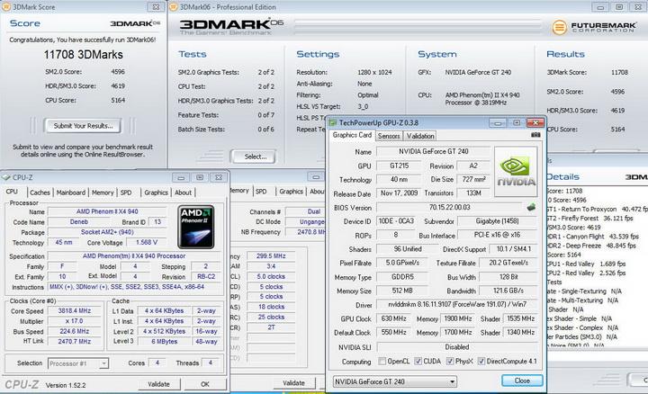 069 Gigabyte GT240 DDR5 512M Ho