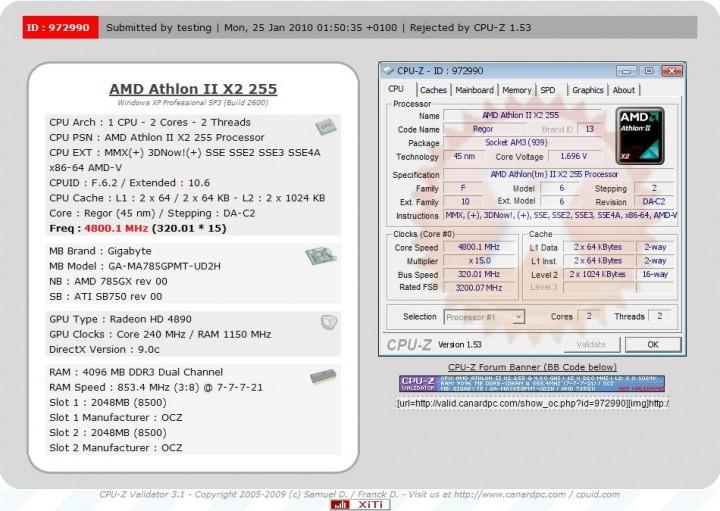 108 720x511 Athlon II X2 255 OC @4.80 GHz