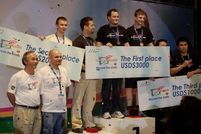 112 งานแข่งขันการโอเวอร์คล็อกระดับโลก MSI MOA2009  ได้แข่งขันเสร็จสิ้นและปิดฉากลงอย่างสวยงาม