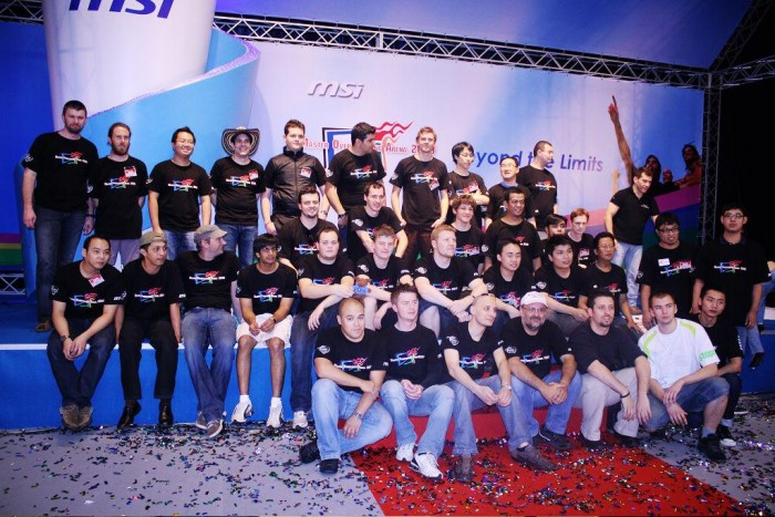 113 งานแข่งขันการโอเวอร์คล็อกระดับโลก MSI MOA2009  ได้แข่งขันเสร็จสิ้นและปิดฉากลงอย่างสวยงาม