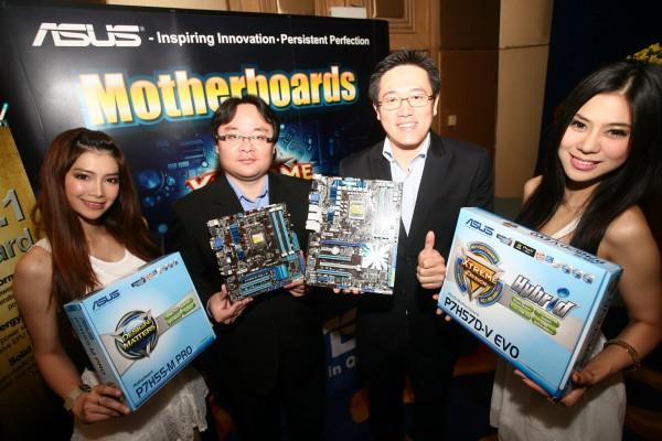 """126 อัสซุส แชมป์ยอดขายอันดับ 1 """"มาเธอร์บอร์ด"""" ในประเทศไทย"""