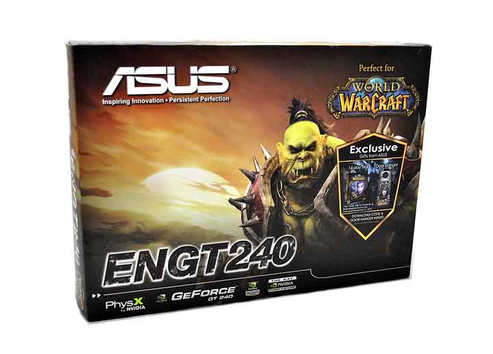 180 Asus ENGT240 1GB DDR5