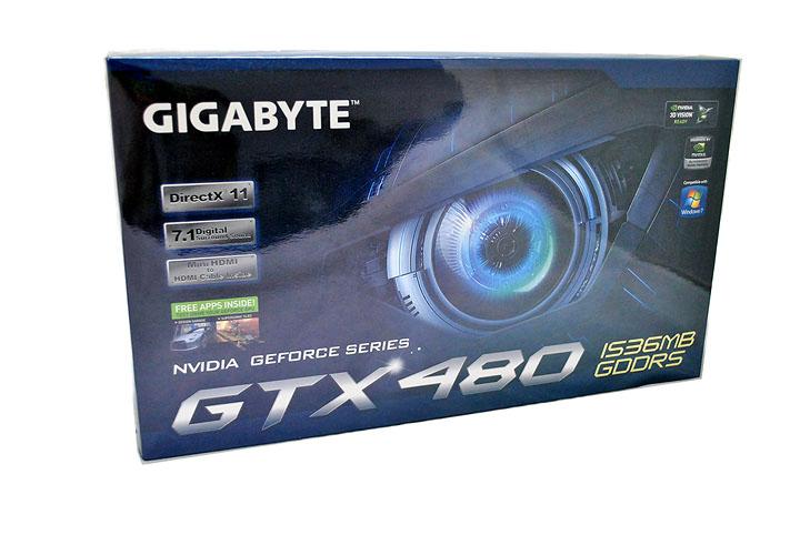 185 Gigabyte GTX480 1536MB  DDR5