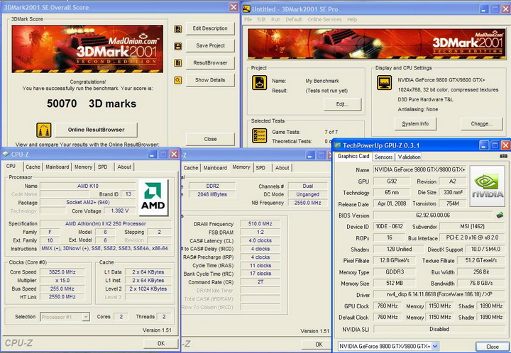 20011 AMD Athlon™II X2 250 Review