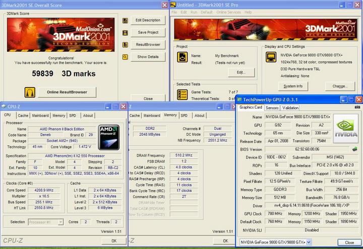 20012 AMD Phenom II X2 550 Black Edition แรงของจริง