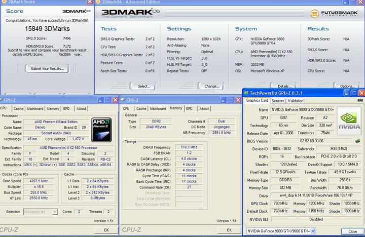 20061 AMD Phenom II X2 550 Black Edition แรงของจริง