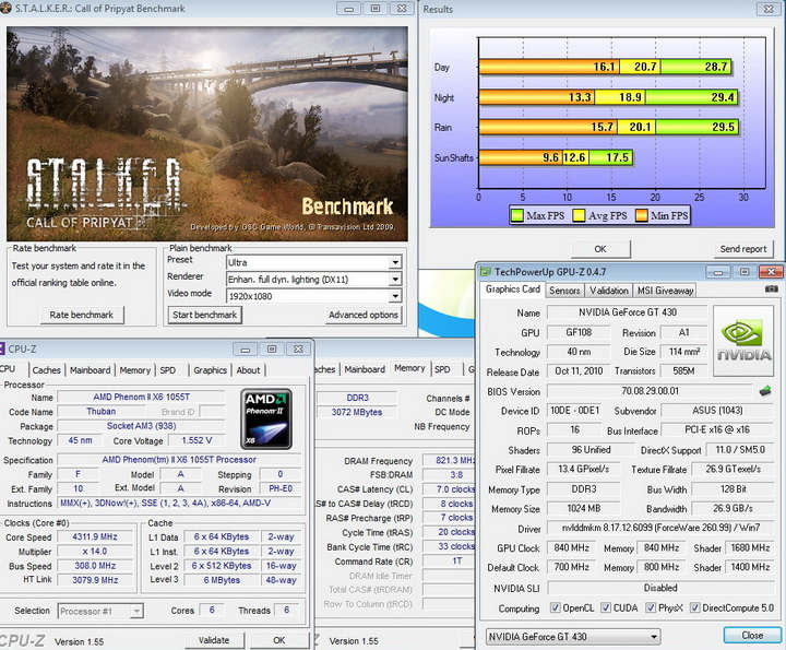 stalker 840 840 1680 ASUS ENGT430 1GB DDR3