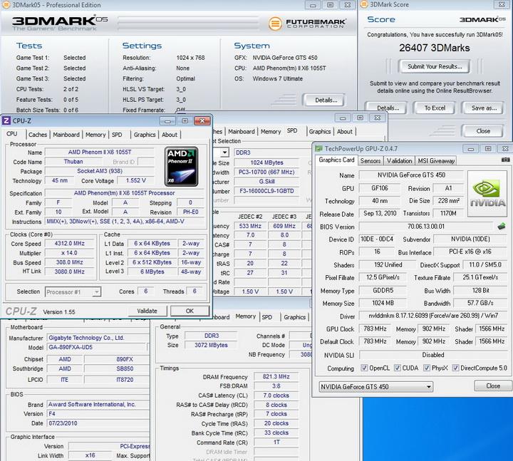 default4 inno3D GF GTS450 1GB DDR5