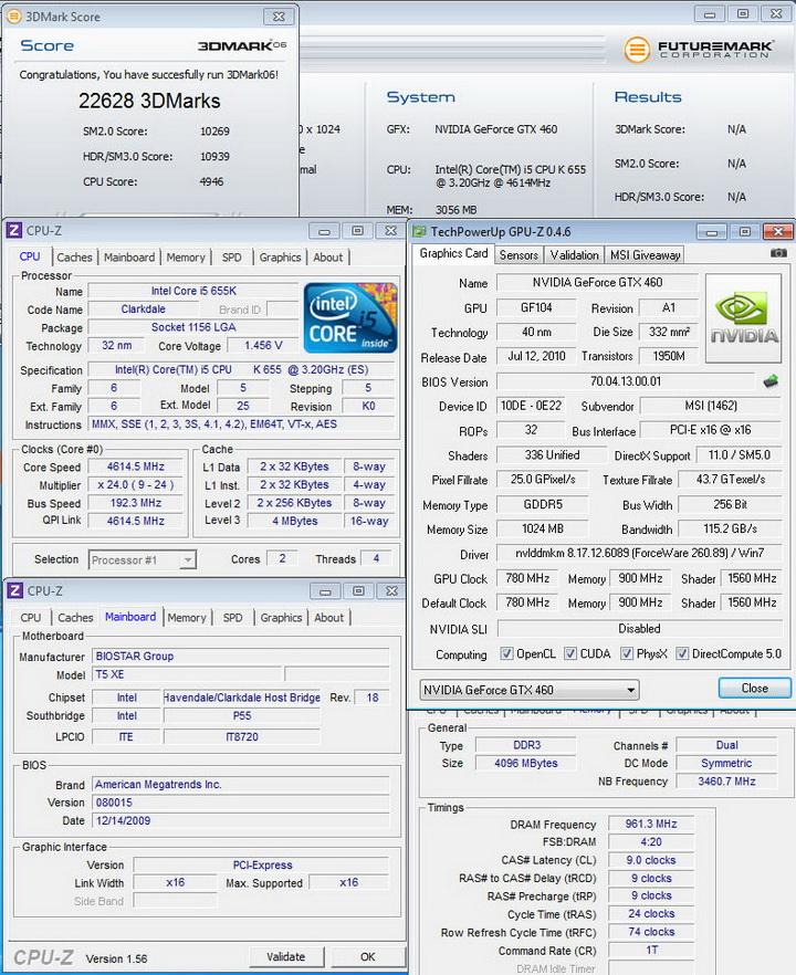 06 MSI N460GTX HAWK  Review