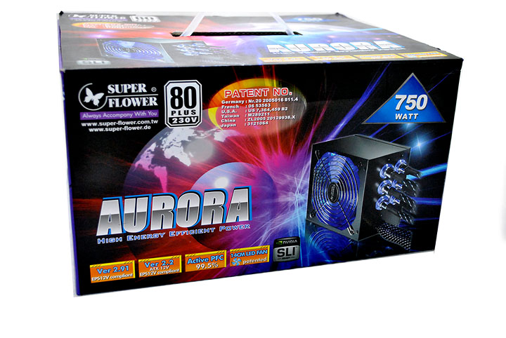 11 Super Flower AURORA 750 watt  80plus
