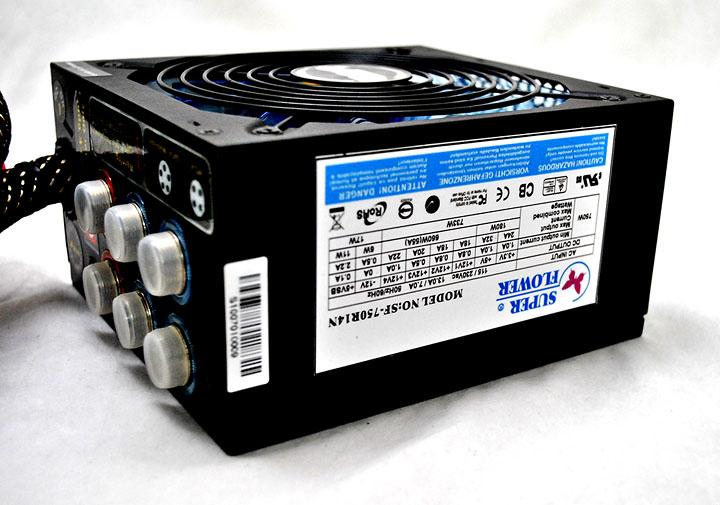 8 Super Flower AURORA 750 watt  80plus