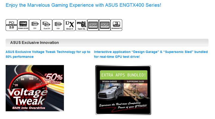 2 ASUS ENGTX480 1.5GB DDR5