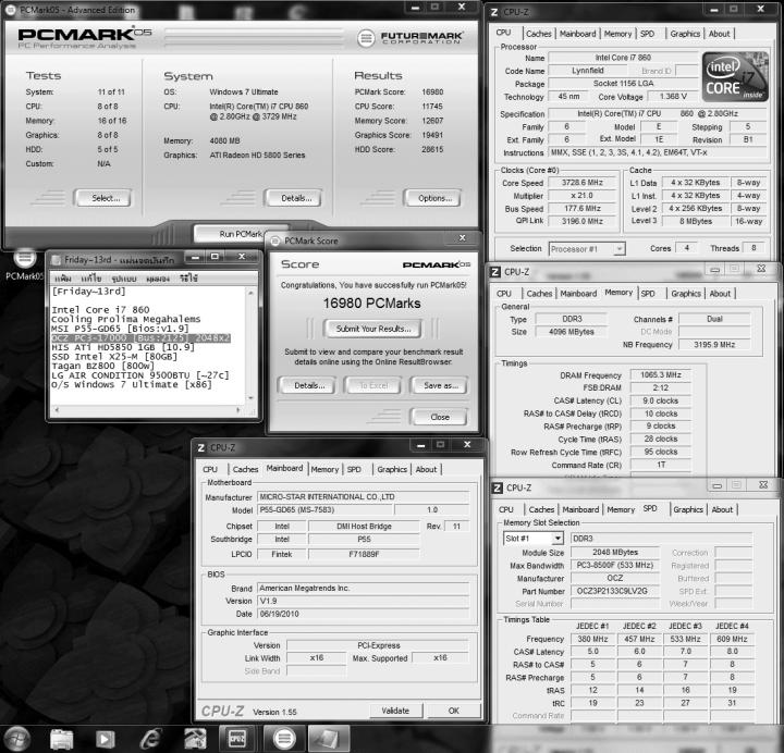 default 177x21 ddr3 2125 9 10 9 28 95 pcmark05 720x692 Memory OCZ PC3 17000 Platinum Series : Review