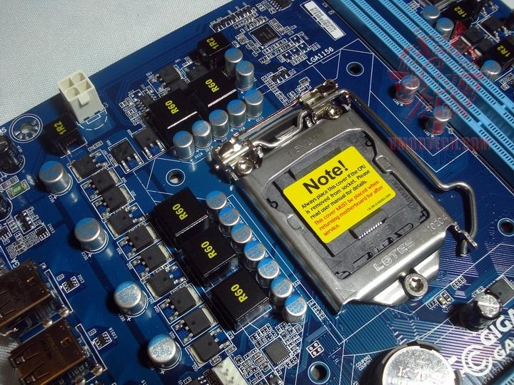 box3 Gigabyte H55M S2 Motherboard