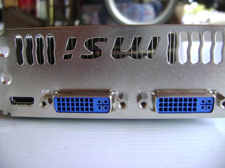 dsc04807 720x540 msi N460GTX Cyclone 768D5 OC EDITION