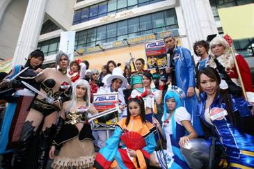 image003 ASUS Xtreme Cosplay Festival