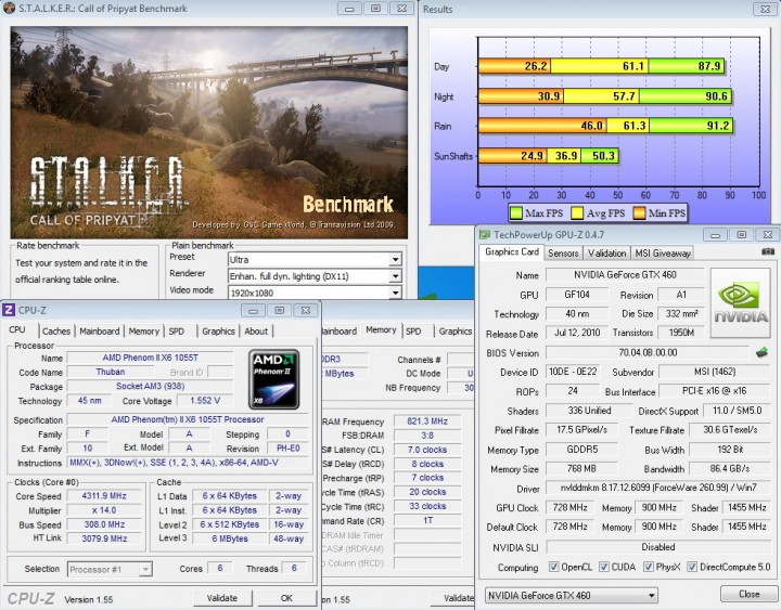 stalker 720x563 msi N460GTX Cyclone 768D5 OC EDITION