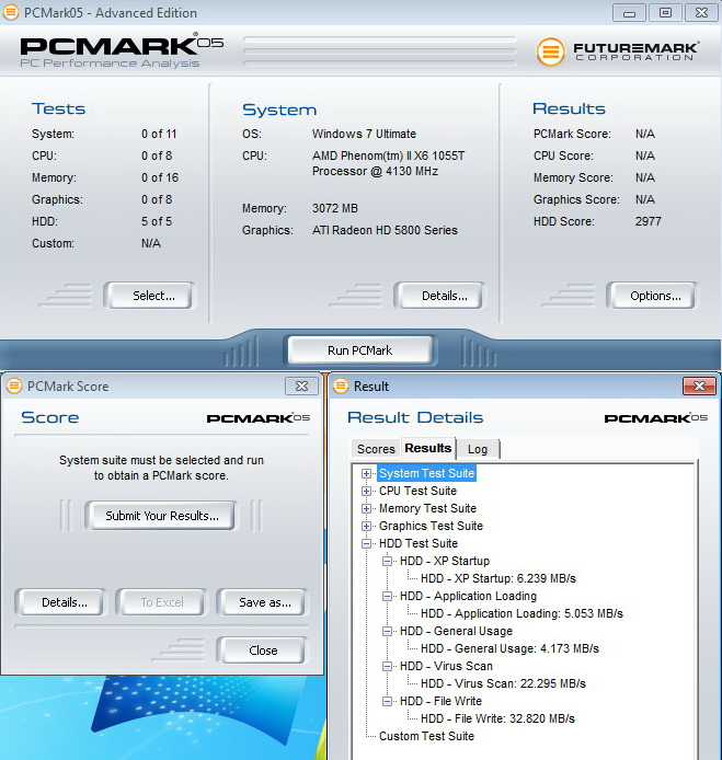 pcmark05 usb20 KINGMAX KE 71 External Hard Drive 2.5 500GB USB3.0