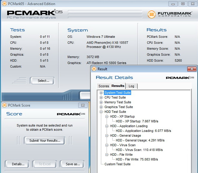 pcmark05 usb30 pci KINGMAX KE 71 External Hard Drive 2.5 500GB USB3.0