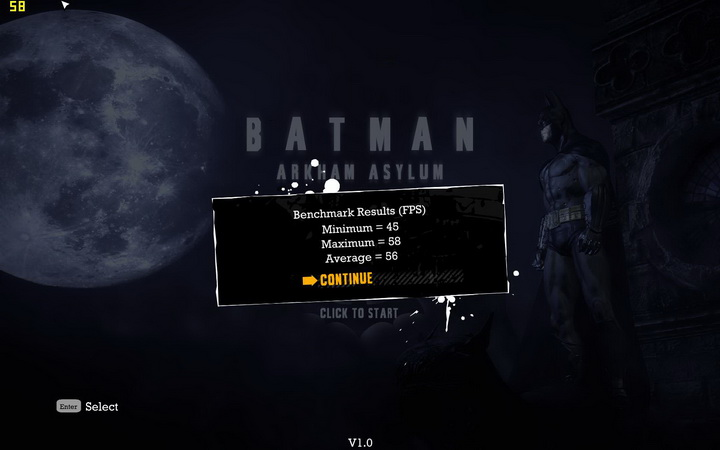 batman default 1 EVGA GTX580 Extreme Review
