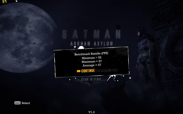 batman oc 1 EVGA GTX580 Extreme Review