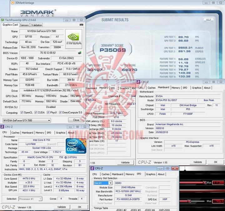 vantage oc 1 EVGA GTX580 Extreme Review