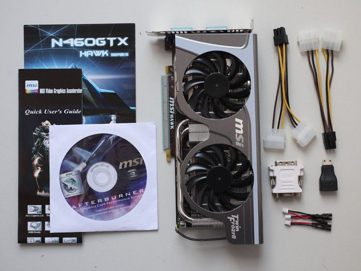 contents MSI N460GTX HAWK  Review