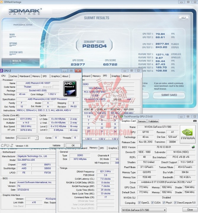 default2 669x720 GALAXY GF GTX580 1536MB DDR5 Review