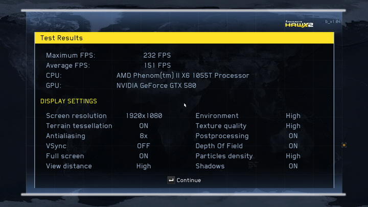 hawx2 dx11 2010 11 23 22 21 05 38 GALAXY GF GTX580 1536MB DDR5 Review