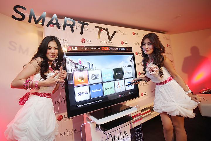 04 smart tv แอลจีเปิดตัว LG INFINIA SMART TV ผนึกกำลังเนชั่น แชนแนลและเอ็มไทย พัฒนาเอ็กซ์คลูซีฟ คอนเทนต์ครั้งแรกในประเทศไทย
