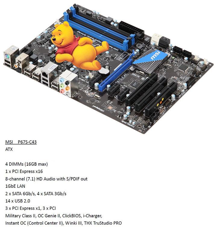 msi p67s c43 MSI P67A GD65