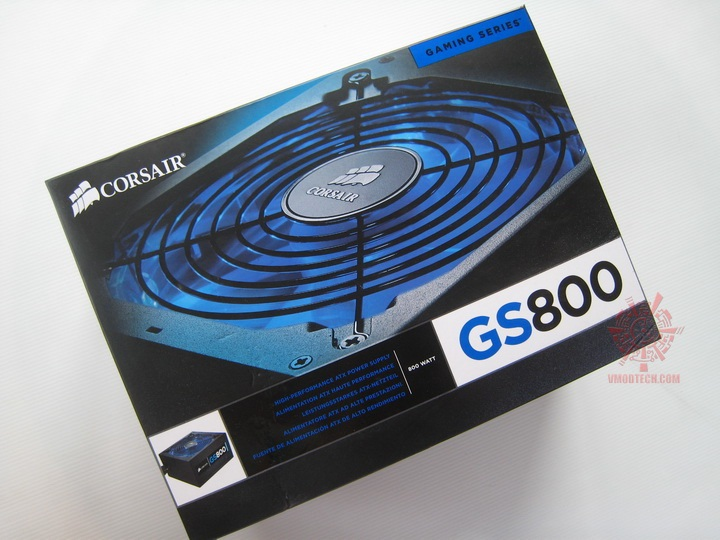 img 0602 Corsair Gaming Series GS800 Power Supply 80+ Review