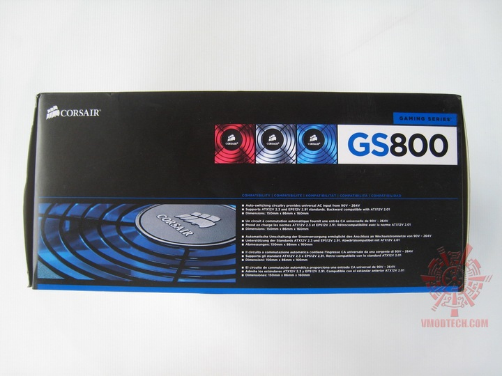 img 0607 Corsair Gaming Series GS800 Power Supply 80+ Review