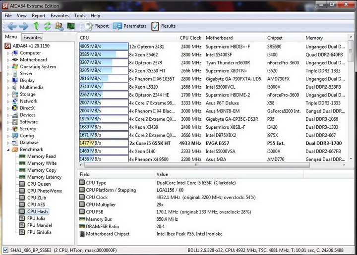 hash1 resize Intel Core i5 655K Processors