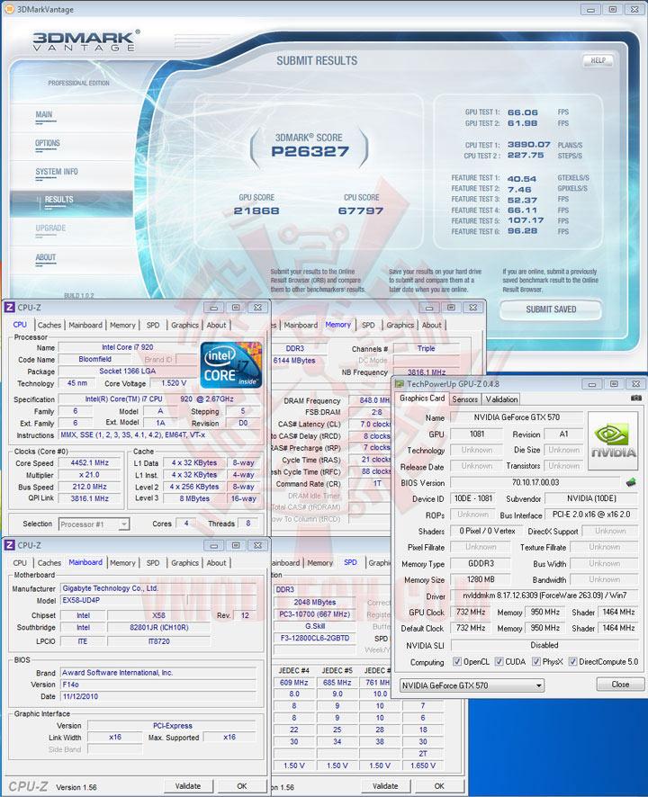 07p df NVIDIA GeForce GTX 570 1280MB GDDR5 Debut Review