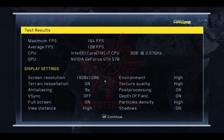 hawx2 df NVIDIA GeForce GTX 570 1280MB GDDR5 Debut Review