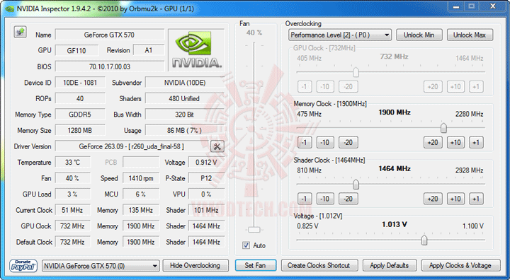 ni 1 NVIDIA GeForce GTX 570 1280MB GDDR5 Debut Review