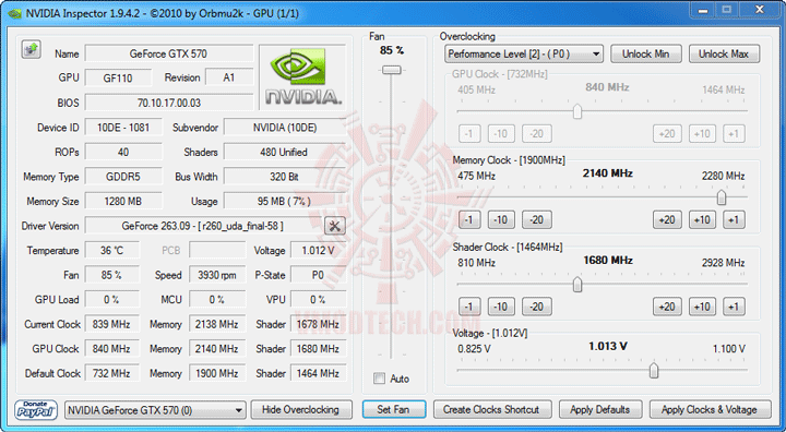 ni 2 NVIDIA GeForce GTX 570 1280MB GDDR5 Debut Review