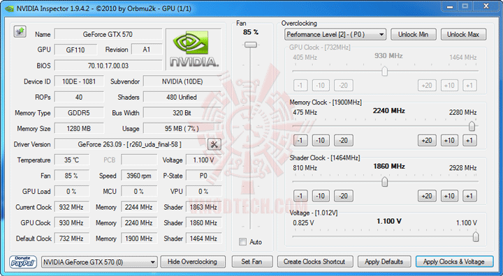 ni 3 NVIDIA GeForce GTX 570 1280MB GDDR5 Debut Review