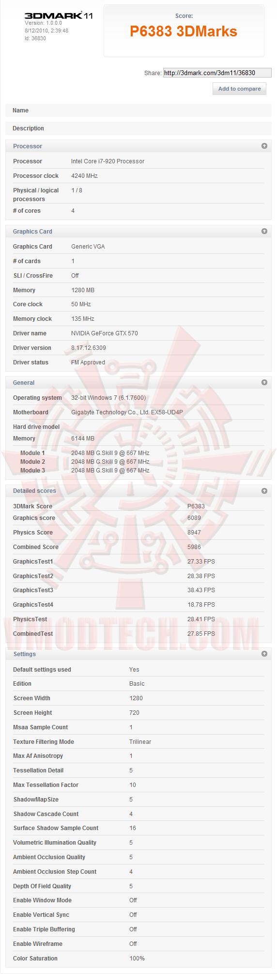 11 ov NVIDIA GeForce GTX 570 1280MB GDDR5 Debut Review