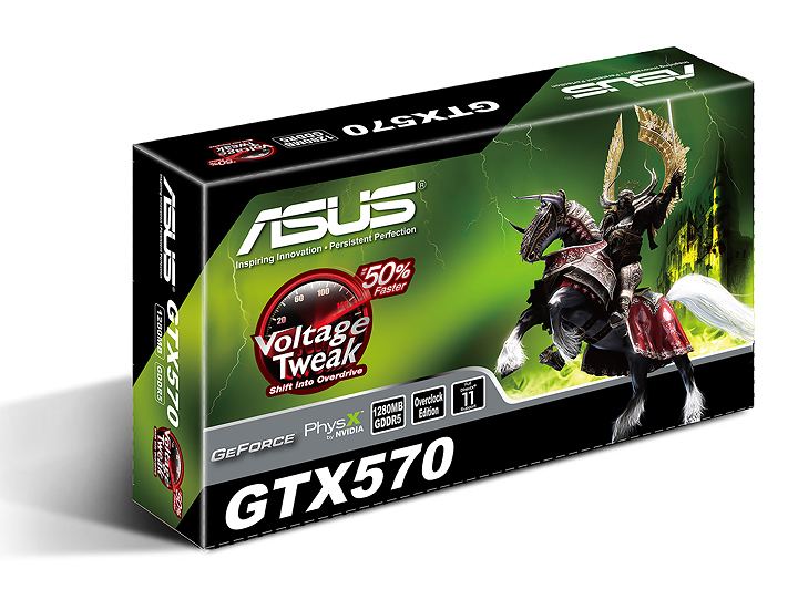 asus e1266u c 3d NVIDIA GeForce GTX 570 1280MB GDDR5 Debut Review