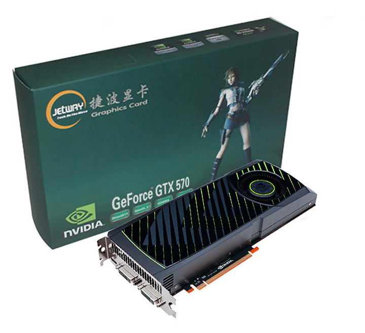 jetway 570 NVIDIA GeForce GTX 570 1280MB GDDR5 Debut Review