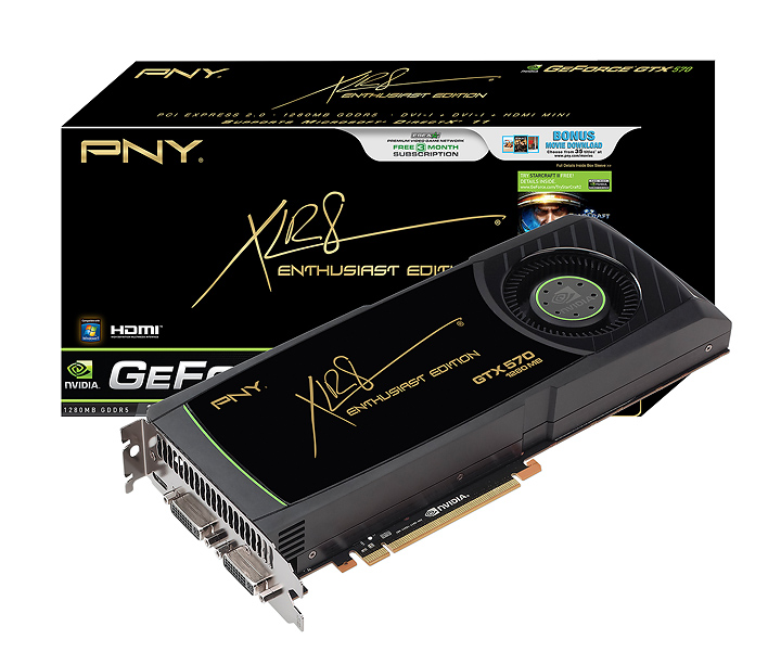 pny gtx 570 NVIDIA GeForce GTX 570 1280MB GDDR5 Debut Review