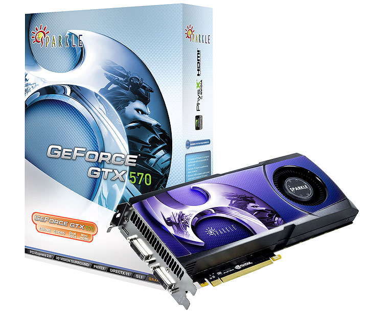 sparkle gtx570 NVIDIA GeForce GTX 570 1280MB GDDR5 Debut Review