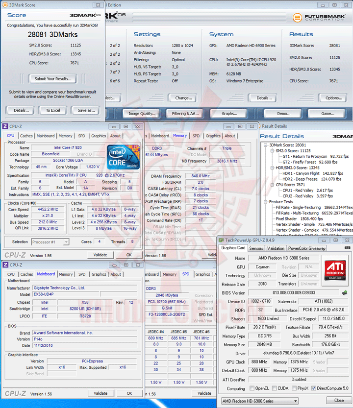 06 GIGABYTE AMD Radeon HD 6970 2GB GDDR5 Debut Review