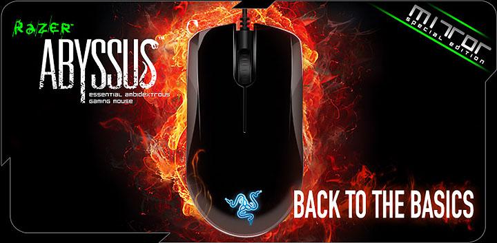 razer abyssus mirror1 ARC ส่ง Mouse Razer Abyssus โฉมใหม่ Mirror Special Edition ไฉไลกว่าเดิม !!