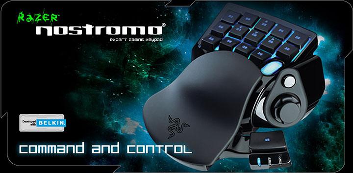 razer nostromo main ARC ส่ง Keypad Razer Nostromo ควบคุมได้ดั่งใจ เพียงคุณสัมผัสมัน !!