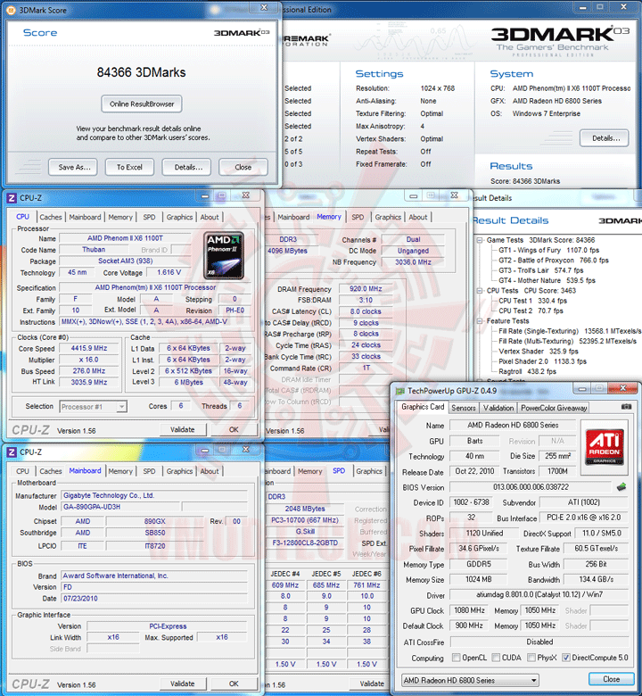 03 AMD Phenom II X6 1100T Black Edition Overclocking Review