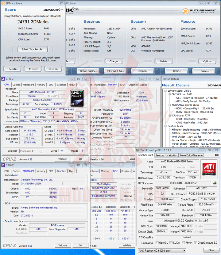 06 AMD Phenom II X6 1100T Black Edition Overclocking Review