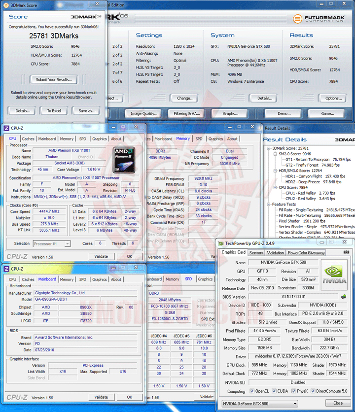 06nv AMD Phenom II X6 1100T Black Edition Overclocking Review